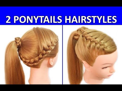 How to Do a High Ponytail  – Long Hairstyles  – PEINÓPOLIS