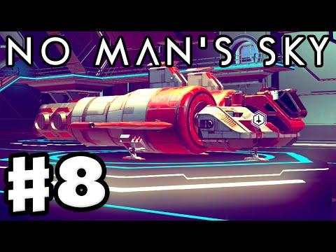 No Man's Sky - Gameplay Walkthrough Part 8 - Million Dollar Ship! (PS4)