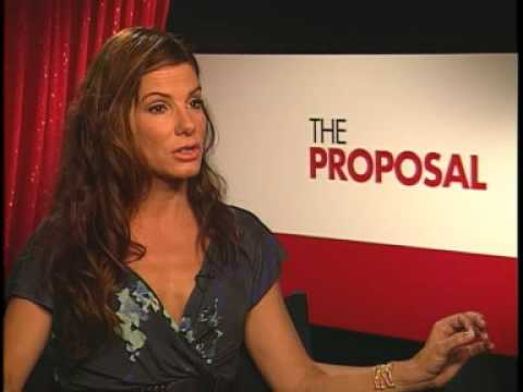 Sandra Bullock Interview The Proposal Youtube