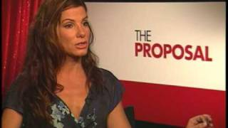"Sandra Bullock Interview ""The Proposal"""