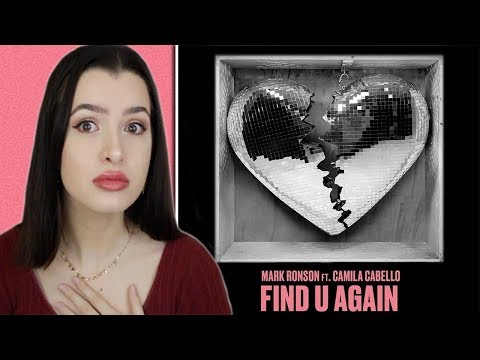 Find U Again ~ Mark Ronson Ft. Camila Cabello Single Reaction