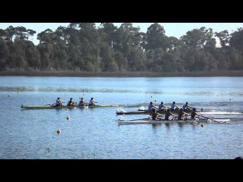 Cuatro sin timonel juvenil, Campeonato Sudamericano, Montevideo, Uruguay