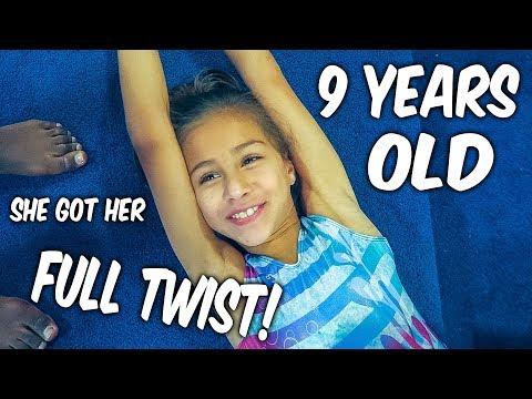 Coach Life: 9 Year Old GYMNAST gets her Full| Rachel Marie