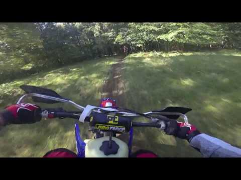 A250 / Little Brown Jug Enduro / Ocalapowersports.com yz250 / garmin virb