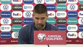 Aleksandar Mitrović Pred Meč Litvanija - Srbija   SPORT KLUB Fudbal