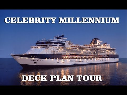 Celebrity Millennium Deck Plans, Diagrams, Pictures, Video