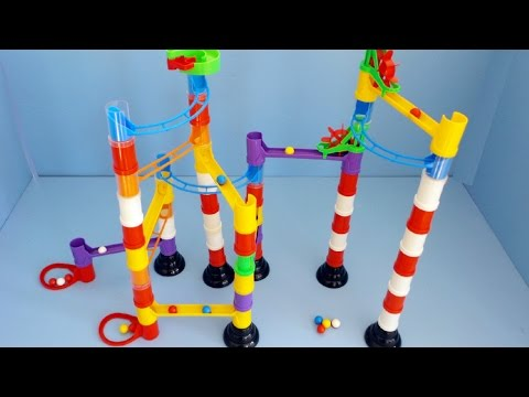 Marble Run Unboxing Great Toy for Kids