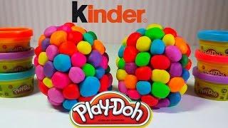 The kinder surprises Kung fu Panda. Play DOH.Интересные сюрпризы. Киндер сюрпризыы.