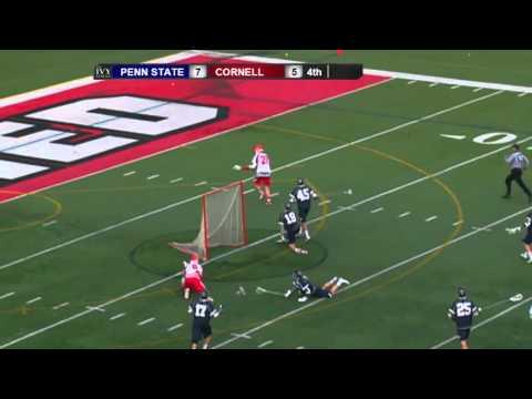 Highlights: Cornell Men's Lacrosse vs. Penn State - 2/20/16