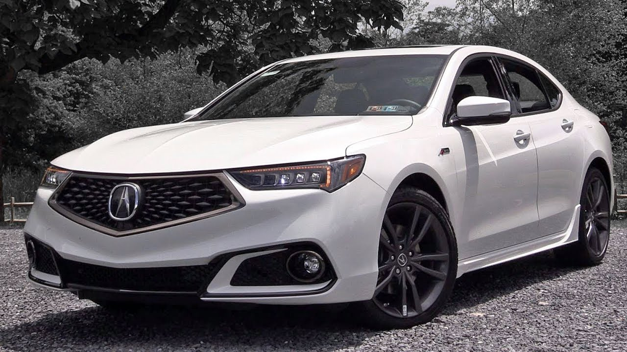 2019 Acura TLX: Review - YouTube