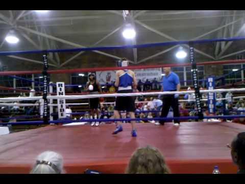 Thompson Boxing Team Justin Tyler aka Lil Footz
