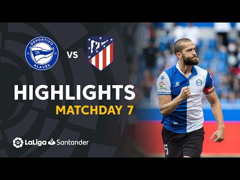 Alaves Atletico Madrid Goals And Highlights