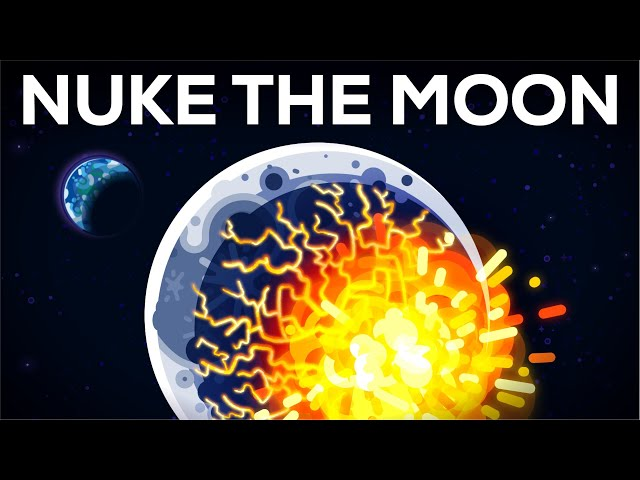 What if We Nuke the Moon?