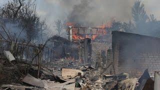 УЖАС! ШОКИРУЮЩИЕ КАДРЫ! Юго восток Украины в руинах! Новости сегодня, Украина, Донецк, Луганск