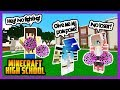LAST DAY OF CHEERLEADING TRYOUTS! - Minecraft High School