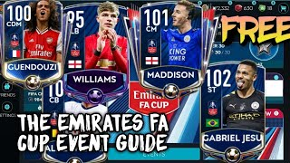 PENTING!! || EMIRATES FA CUP EVENT GUIDE || FIFA MOBILE INDONESIA