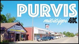 PURVIS MISSISSIPPI DRIVE THROUGH IN 4K