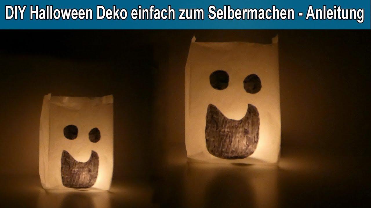 Diy Einfache Halloween Party Deko Selber Machen Halloween