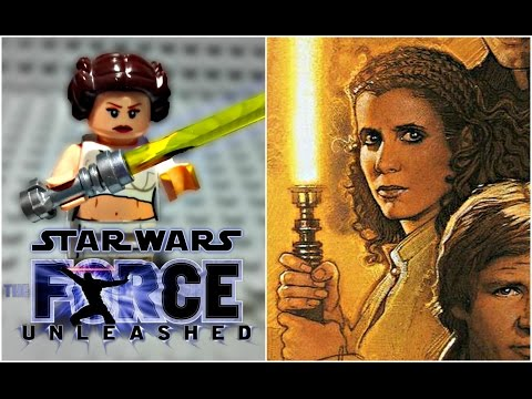 LEGO Star Wars The Force Unleashed - Jedi Leia Skywalker Minifigure Review