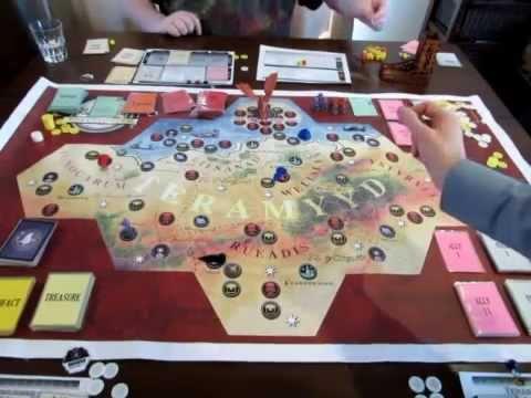 Teramyyd:Earthsphere Gameplay Video - Part 1 (Print and Play version)
