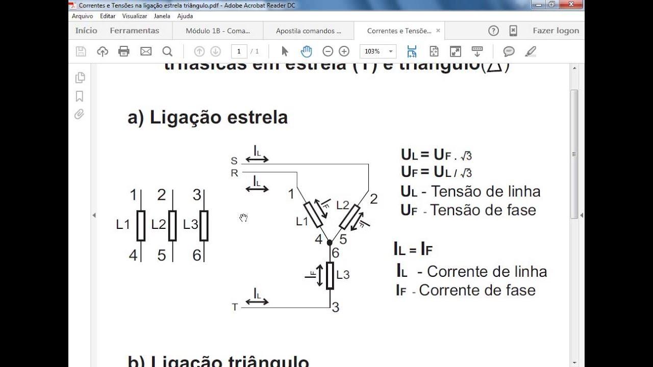 Formula da voltagem