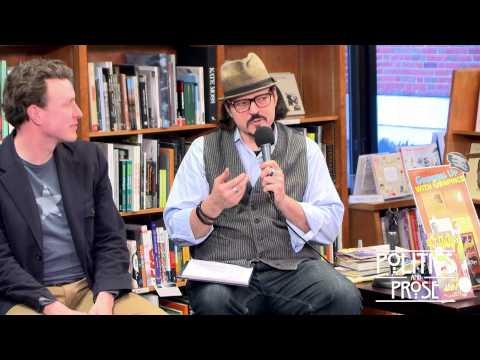 """Growing Up With Graphics"" Graphic Novel Panel at Poltics & Prose PART 1"