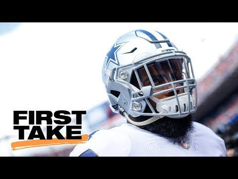 Ezekiel Elliott was 'pouting like a baby' vs. Broncos   First Take   ESPN