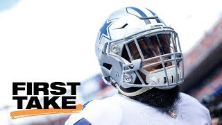 Ezekiel Elliott was 'pouting like a baby' vs. Broncos | First Take | ESPN