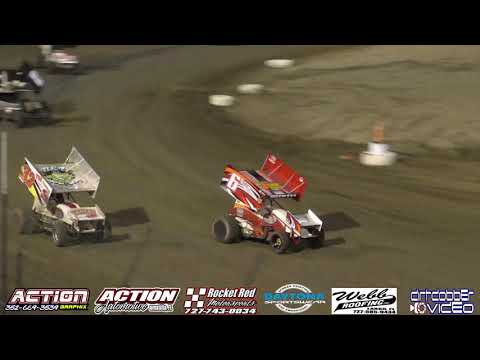 East Bay Raceway Park   Sprint Car Feature 3/30/19