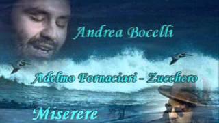 Video Andrea Bocelli & Zucchero - Miserere download MP3, 3GP, MP4, WEBM, AVI, FLV Juli 2018