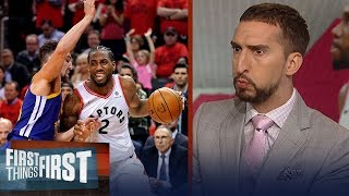 Raptors have to respond after Game 5 collapse to win Finals - Nick Wright | NBA | FIRST THINGS FIRST
