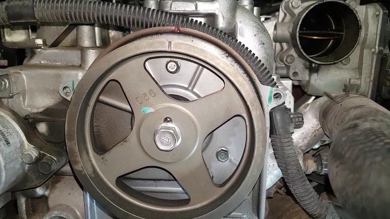 4D56U Mitsubishi 2 5 DiD Timing
