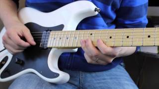 Richie Kotzen Pentatonic Lick ( with TABS ! )