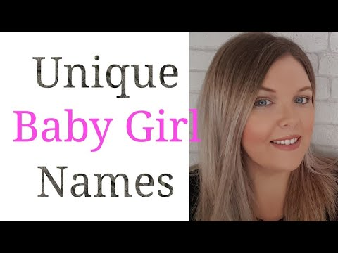 10 UNIQUE BABY GIRL NAMES | ALTERNATIVES TO POPULAR NAMES