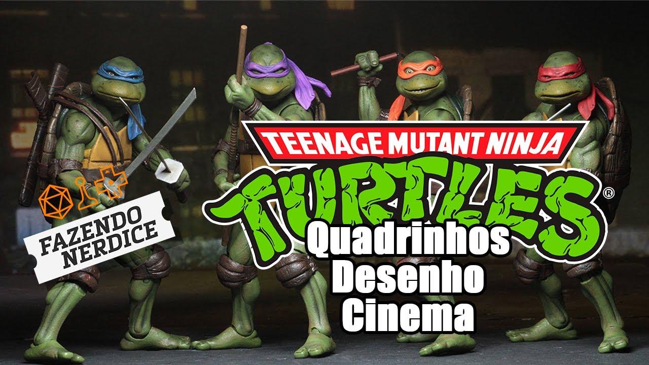 Tartarugas Ninja: Mais que um Desenho Infantil?