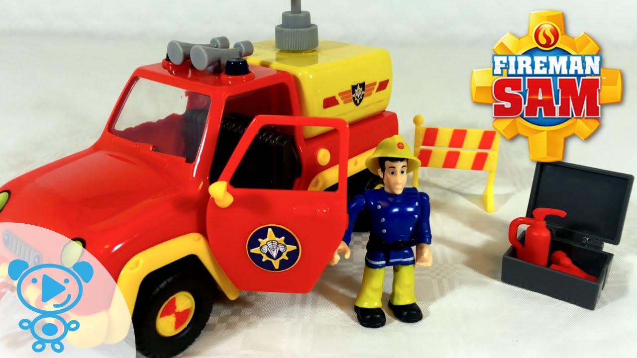 Best Fireman Sam Toys Kids : Fireman sam fire truck venus with firefighter
