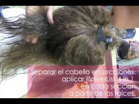 Power Liss - Organic Hair Bottox - Aplicación Paso a Paso