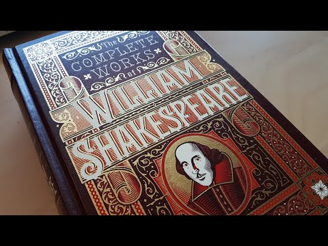 The Complete Works of William Shakespeare - Barnes & Noble Leatherbound review