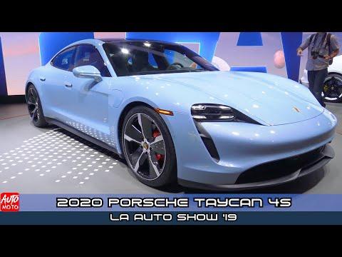 2020 Porsche Taycan 4S  - Exterior And Interior - LA Auto Sh