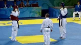 (Beijing 奥运会)跆拳道男子决赛
