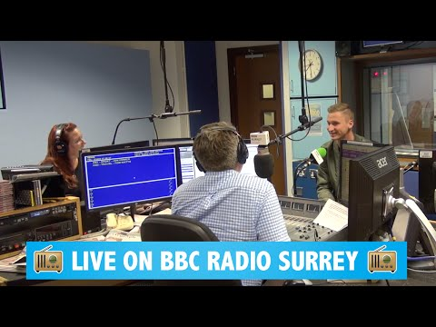 BBC Radio Surrey  -Talking about the video that went viral of my Nan's birthday surprise