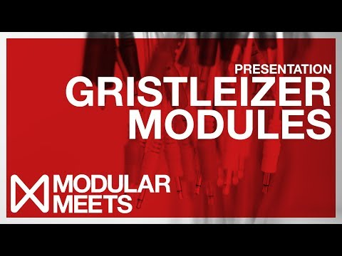 Gristleizer Modules presented by Future Sound Systems & Roy