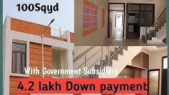 3Bhk 100 Sqyd Independent house at Niwaru Road Loanable/4.2 Down payment 9928355553
