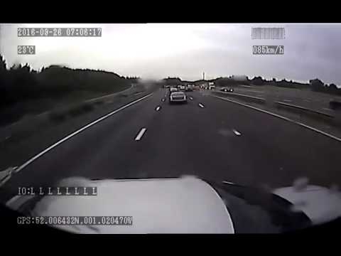 ProVision Forward Facing HGV Truck Camera - Road Accident Footage