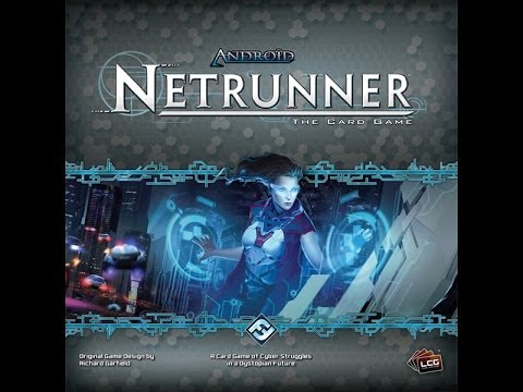 Android: Netrunner review - Board Game Brawl