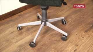 Panele Podłogowe a krzesła obrotowe - Jakie kółka stosować i jakie maty ochronne