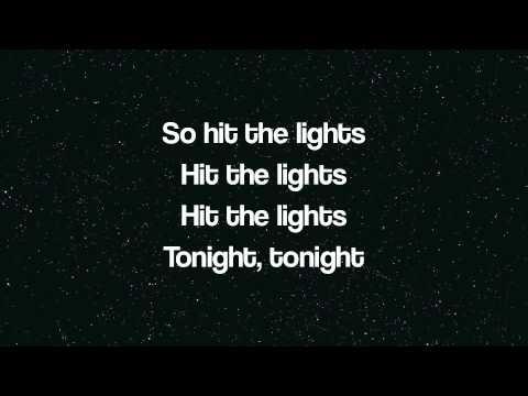 Jay Sean ft Lil Wayne Hit the Lights Lyrics on screen