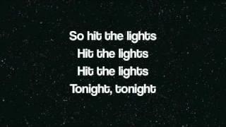 Jay Sean ft Lil Wayne Hit the Lights Lyrics (on screen)