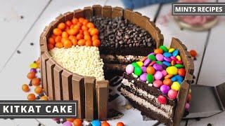 कटकट कक  KitKat Cake Recipe in Pan  Cake Recipe in Hindi