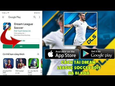 Hướng dẫn tải Dream League Soccer 2019 đã bị xoá cực dễ